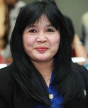 Dian Leila Sari, A.Md.RO, SPd, MKes - Ketua IROPIN Pusat 2016 - 2021